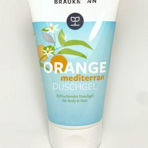 Tube mit Duschgel der Firma Hildegard Brauckmann