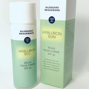 Spender und Verpackung (Karton) der Firma Hildegard Brauckmann